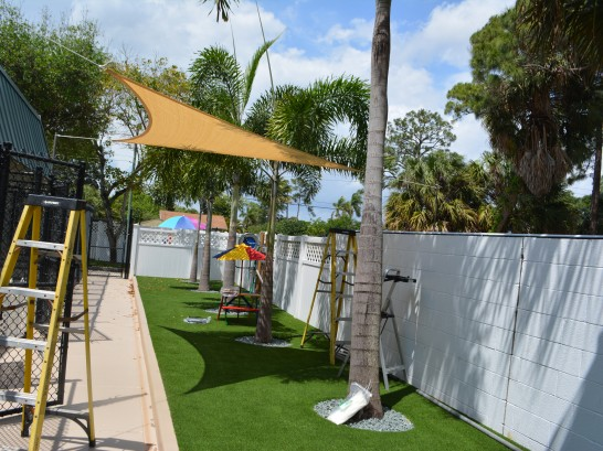 Artificial Grass Photos: Artificial Grass Installation Quogue, New York Dog Run, Commercial Landscape