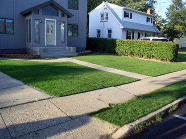 Artificial Grass Photos: Fake Turf Kiryas Joel New York  Landscape  Pavers Front Yard