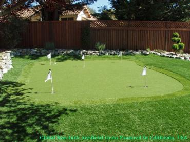 Golf Putting Greens Bellerose Terrace New York Fake Turf artificial grass