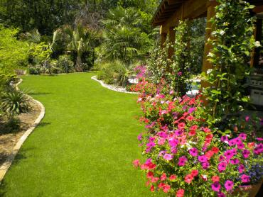 Artificial Grass Photos: Synthetic Grass Mastic New York Lawn  Front Yard