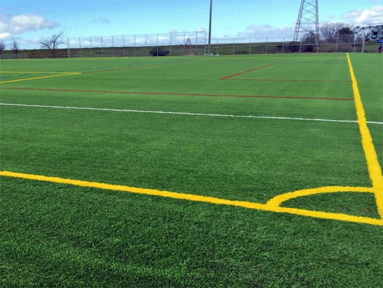Artificial Grass Photos: Synthetic Grass Sports Fields Salisbury Mills New York  Front