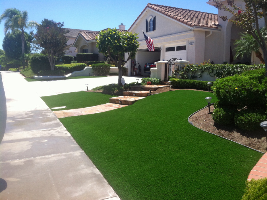 Synthetic Grass Hillburn New York Lawn Front Yard