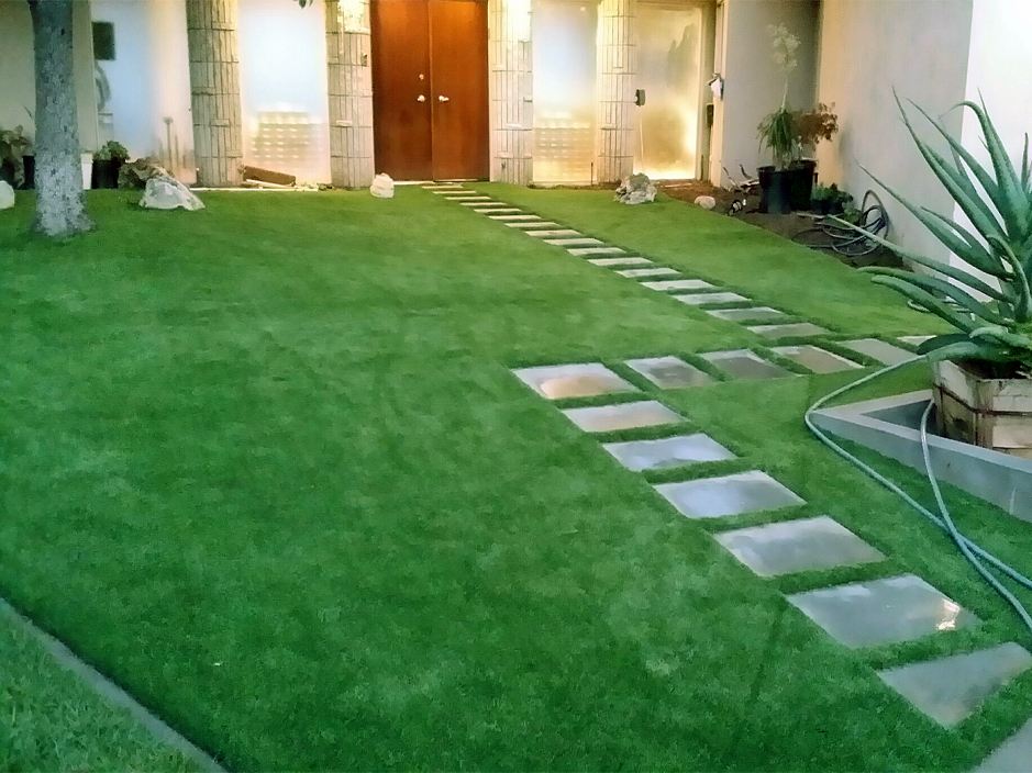 Synthetic Grass Milton New York Lawn Front Yard