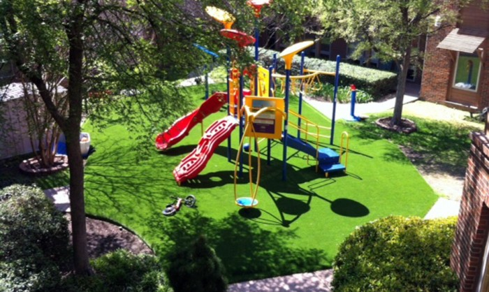 Artificial Grass for Playgrounds in New York